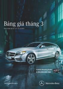Bang gia Mercedes Benz