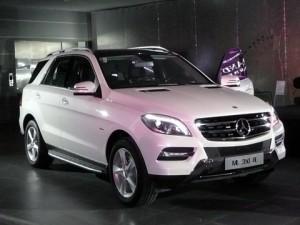 Mercedes-Benz ML350 2012 ra mắt việt Nam